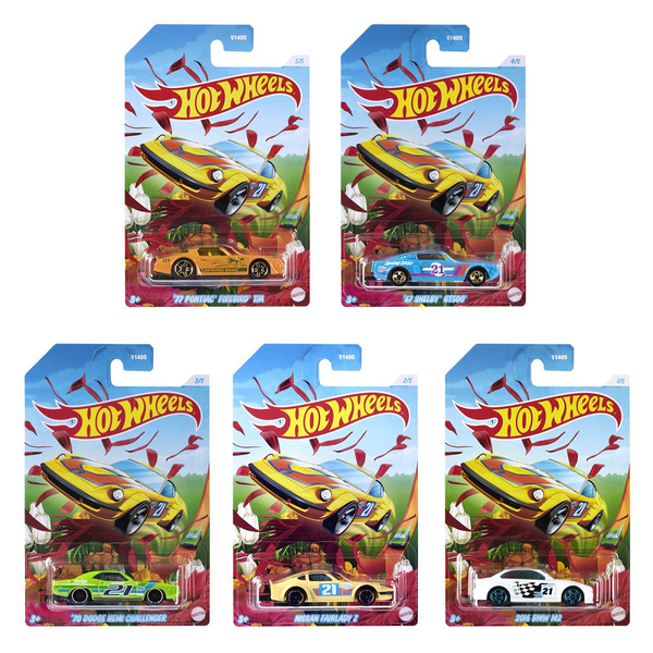 Hot Wheels Spring 2021 Die-Cast Metal Vehicles [set of 5]