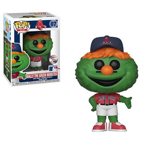 Funko Pop! MLB Boston Red Sox: Wally The Green Monster #07