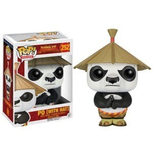 Funko Pop! KUNG FU PANDA: Po [With Hat] #252