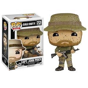 Funko Pop! CALL OF DUTY: Captain John Price #72