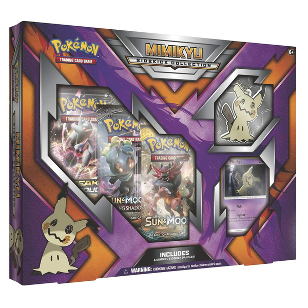 Pokemon TCG: Mimikyu Sidekick Collection