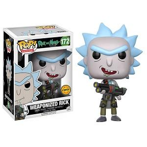 Funko Pop! RICK AND MORTY: Weaponized Rick #172 [Chase]