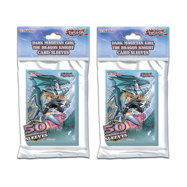 Yu-Gi-Oh! Dark Magician Girl / The Dragon Knight Card Sleeves [100 pack]