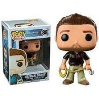 Funko Pop! UNCHARTED: Nathan Drake #88 [Black Shirt]