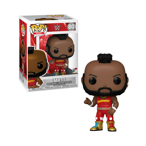 Funko Pop! WWE: Mr. T #80