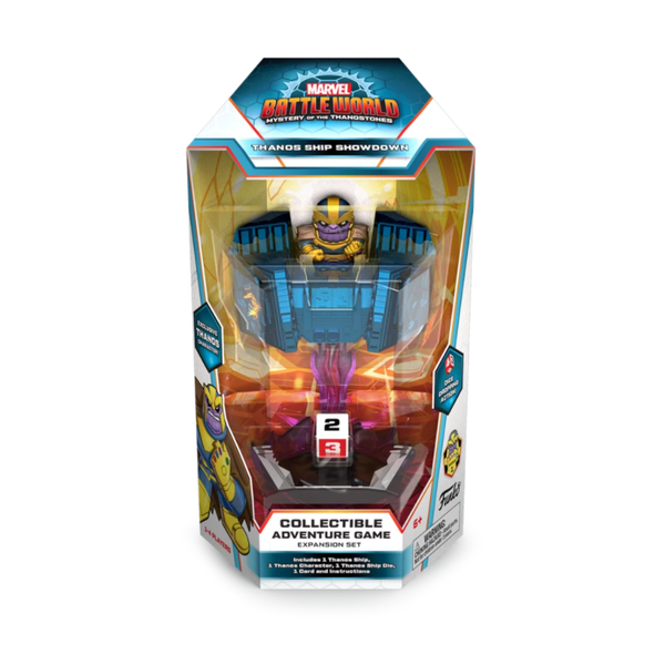 Funko Battleworld Marvel Series 1 Thanos Ship Showdown