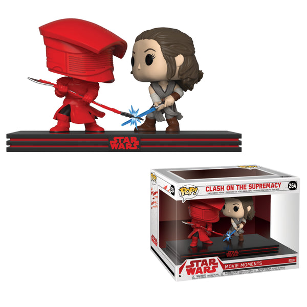 Funko Pop! STAR WARS Movie Moments: Rey & Praetorian Guard #264
