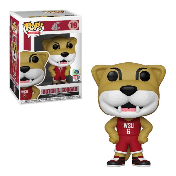 Funko Pop! College Mascot: WSU Butch T. Cougar #19