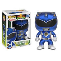 Funko Pop! POWER RANGERS: Blue Ranger #363 [Metallic]