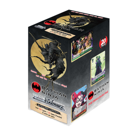 Weiss Schwarz: Batman Ninja Booster Box [20 packs] Factory Sealed