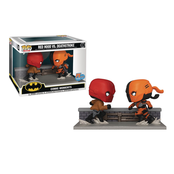 Funko Pop! DC Comic Moments: Red Hood vs. Deathstroke #336 [PX]