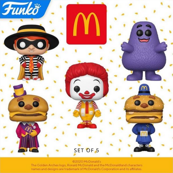 Funko Pop! AD ICONS: McDonald's [SET OF 5]