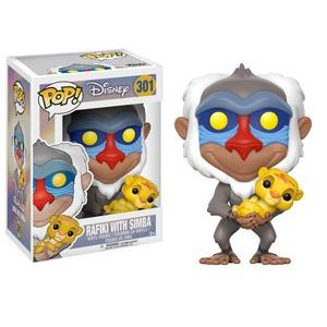 Funko Pop! DISNEY: Rafiki with Simba #301