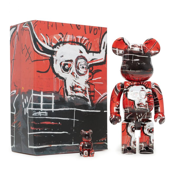 Bearbrick Jean-Michel Basquiat No.5 100% & 400% [Set]