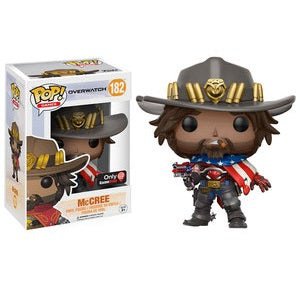 Funko Pop! OVERWATCH: McCree #182 [Gamestop]