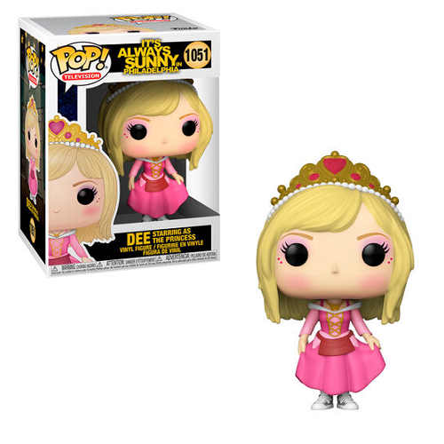 Funko Pop! IT'S ALWAYS SUNNY IN PHILADELPHIA: Dee Starring As The Princess #1051