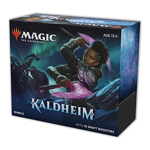 Magic The Gathering CCG: Kaldheim Draft Bundle [ 10 Boosters]