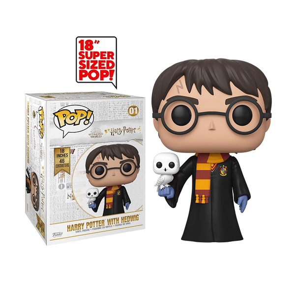 Funko Pop! 18-inch Harry Potter w/ Hedwig #01