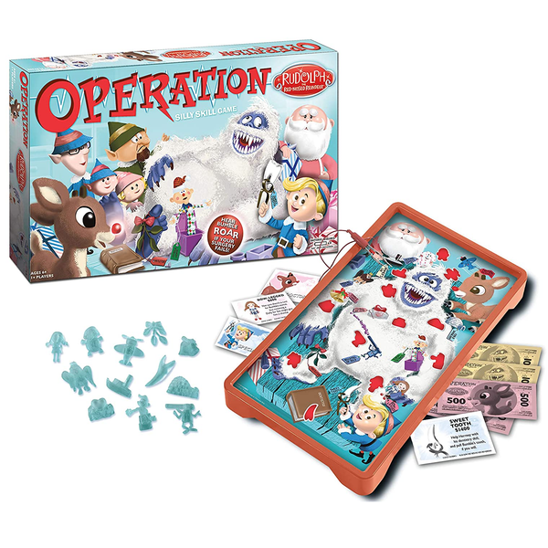 Operation Silly Skill Game - Rudolph The Red-Nosed Reindeer by USAOPOLY