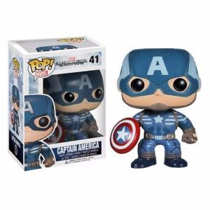 Funko Pop! MARVEL: The Winter Soldier: Captain America #41 - AveHub