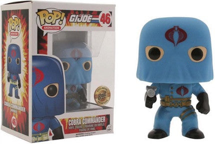 Funko Pop! G.I. JOE: Cobra Commander [Hooded] #46 [Bait]