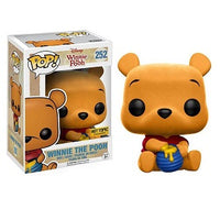 Funko Pop! DISNEY: Winnie The Pooh [Flocked] #252 [Hot Topic]