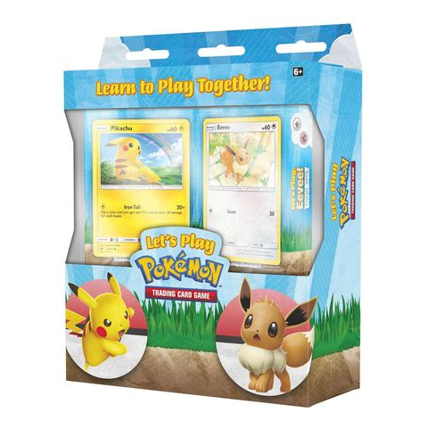 Pokemon TCG: Let's Play Trading Card Game Box