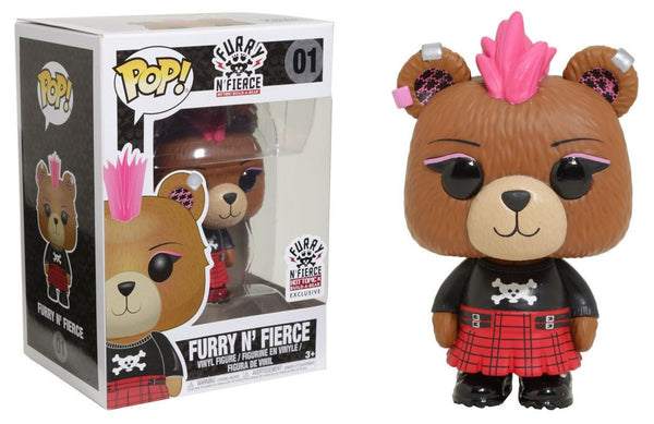 Funko Pop! Furry n' Fierce #01 [Hot Topic]