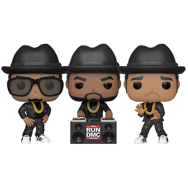 Funko Pop! ROCKS: Run DMC [set of 3]