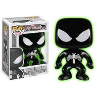 Funko Pop! MARVEL: Black Suit Spider-Man [GITD] #79