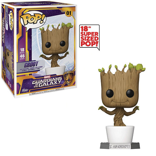 "Funko Pop! MARVEL Guardians of Galaxy: Groot 18"" #01"