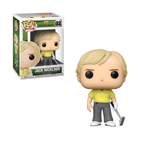 Funko Pop! GOLF: Jack Nicklaus #02