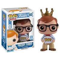 Funko Pop! Freddy Funko [Hipster w/ Glasses] #03 [Funko Shop]