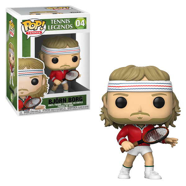 Funko Pop! TENNIS: Bjorn Borg #04