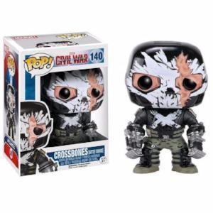 Funko Pop! MARVEL Captain America Civil War: Crossbones [Battle Damage] #140