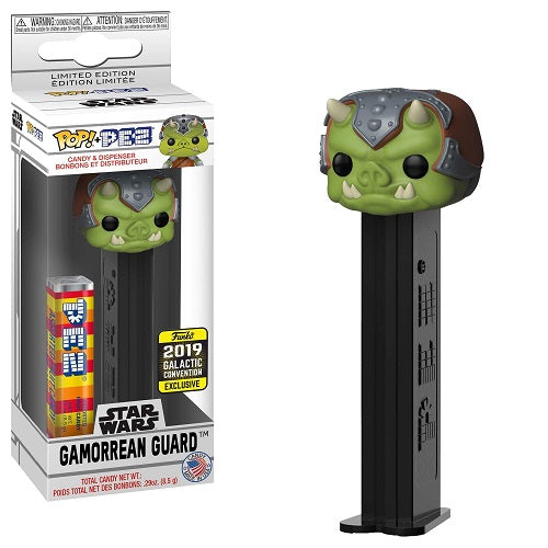 Funko Pop! PEZ: Gamorrean Guard [Galactic Convention 2019]