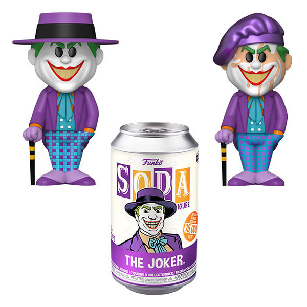 Funko Vinyl SODA: DC - The Joker 1989 [Chance of CHASE]