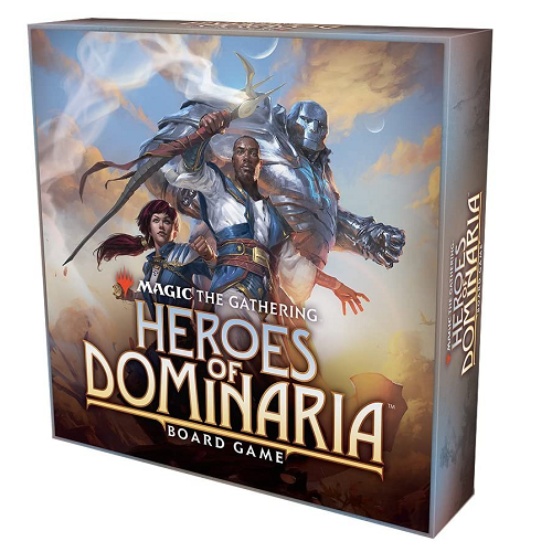 Magic the Gathering: Heroes of Dominaria Board Game [Standard Edition]