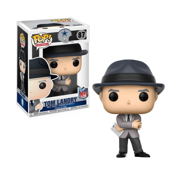 Funko Pop! NFL LEGENDS Cowboys:  Tom Landry #87