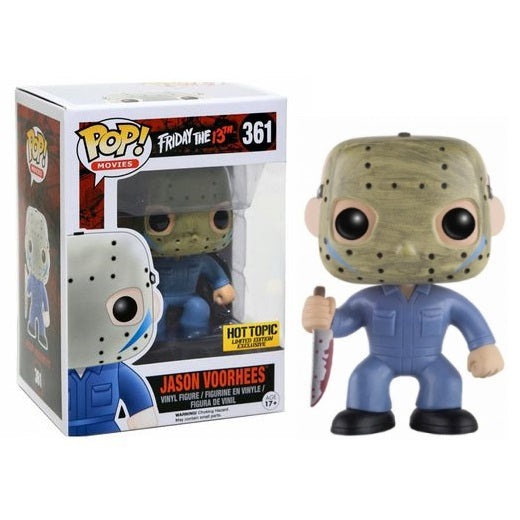 Funko Pop! Friday the 13th: Jason Voorhees #361 [Hot Topic]