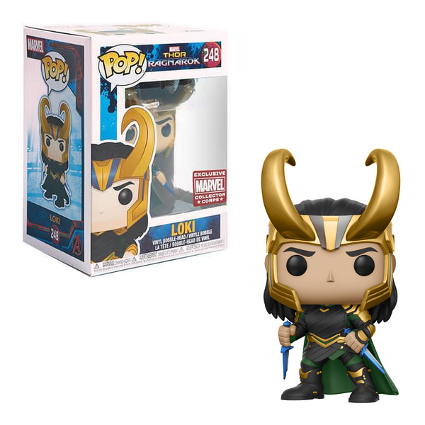 Funko Pop! MARVEL Thor Ragnarok: Loki #248 [Collector Corps]