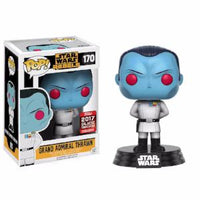 Funko Pop! STAR WARS: Grand Admiral Thrawn #170 [2017 Galactic]