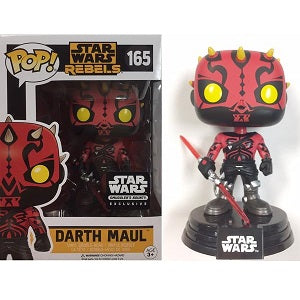 Funko Pop! STAR WARS: Darth Maul #165 [Smuggler's Bounty]