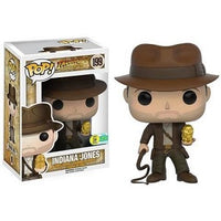 Funko Pop! DISNEY: Indiana Jones with Gold Idol #199 [2016 SDCC]
