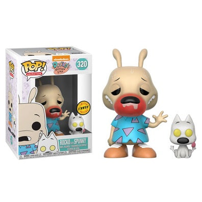 Funko Pop! NICKELODEON: Rocko with Spunky [Chase] #320