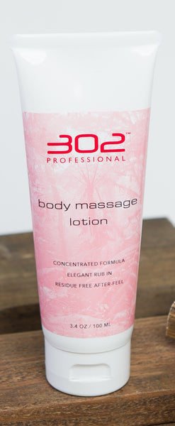302 Professional Body Massage Lotion: Unscented
