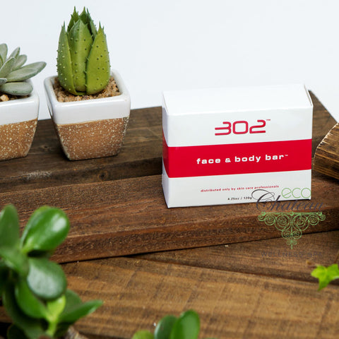 302 Skincare Face and Body Bar