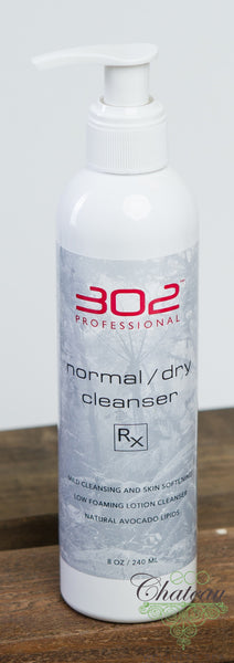302 Skincare Normal/Dry Cleanser Rx