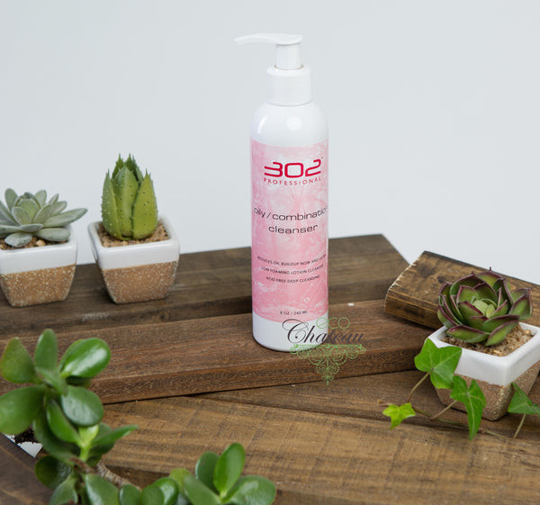 302 Skincare Oily/Combination Cleanser