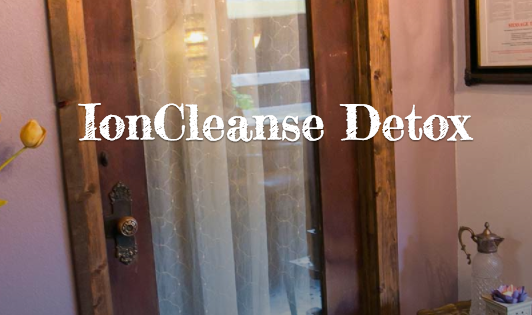 IonCleanse Detox $120 for THREE SESSIONS